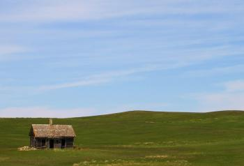 """Credit: """"Prairie Homestead"""" by Chitrapa - Own work. Licensed under CC BY-SA 3.0 via Commons - https://commons.wikimedia.org/wiki"""